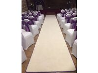 Wedding carpet runner stunning!!
