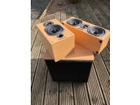 Warfedale Diamond 9 Surround sound speakers