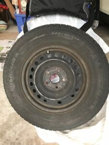 Used Michelin Snow Tires (with rims)