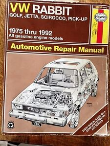 Haynes Repair Manuals VW 1975 to 1998