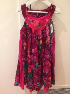 GIRLS DESIGNER DRESS - CATIMINI PARIS **NEW, Size 6**
