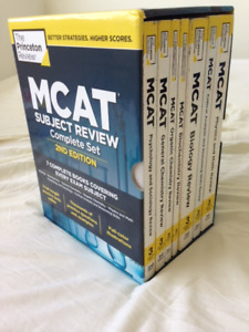 Princeton Review MCAT Subject Review Complete Box Set, 2nd Editi
