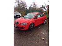 FOR SALE 2008 SEAT LEON 2L - GREAT CONDITION, £30 TAX A YEAR & EXCELLENT ON FUEL