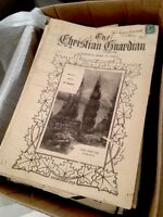 The Christian Guardian Newspapers era 1903-1910