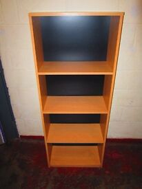 Bookshelves . Size : H=160cm , W=62.5cm , D=30cm