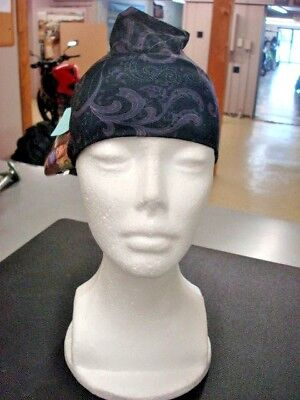 HAIR BAND~HEAD BAND~HAIR GLOVE EZ BANDZ~MOST COMFORTABLE BAND!~BLACK FLORAL