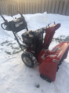 CRAFTSMANS 9.0 TWO-STAGE SNOW-BLOWER  $640.00 obo