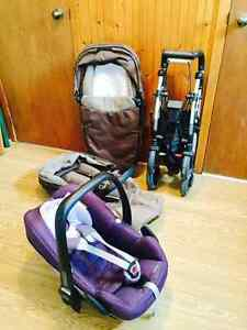 Maxi-Cosi Streety Plus Stroller 2in1 plus carseat Pebble/Pousset