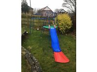 Early Learning Centre Climbing frame, slide with extension and extension ladder plus spare parts