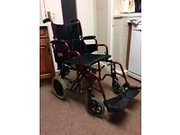 Wheelchair - Lightweight - very comfortable - Hardly used.