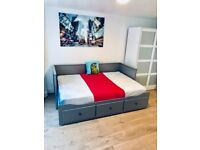 *** New Studio ,IKEA furniture, wooden floors few minutes from the sea (small pet allowed) ***