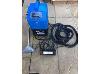 Carpet machine and hot water unti