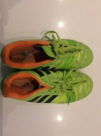 Adidas Nitrocharge 3.0 Neon Green Size 4.5