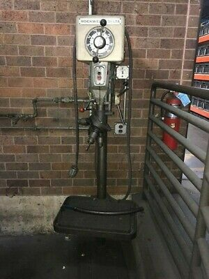 Used Rockwell Delta 15 Inch Model 15-655 Drill Press
