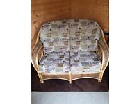 High Quality 2 seater wicker sofa