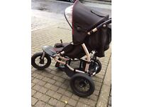 Mamas and papas pram & raincover plus buggy board