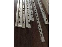 Tile Edge trims - chrome finish
