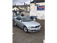BMW 3 series 318CI SE 2003 12 months MOT Including Private Plate £1250 ono.