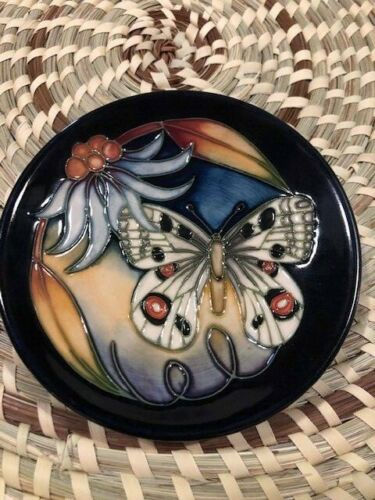 "MOORCROFT POTTERY 2005 ""APOLLO"" TRAY 780/4 NIB (B)"