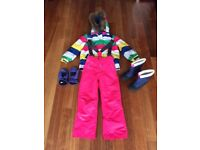 Girls Boden Ski Outfit for sales inc. boots, age 7-8