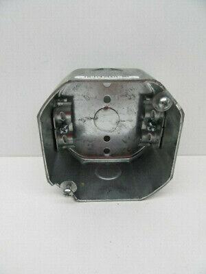 Raco 175 Romex Clamps 4 X 2-18 Deep Electric Steel Octagon Box