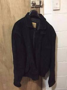 Suede Leather Jacket - Used Coorparoo Brisbane South East Preview