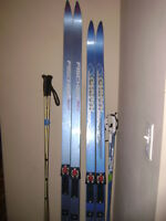 Fischer and Karhu Cross Country Skis for sale