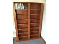 DVD/videos/books storage unit