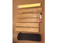 Kahrs engineered oak flooring. approx 8.5 sqr metres. 7mm Breeze oak in matt brushed lacquer