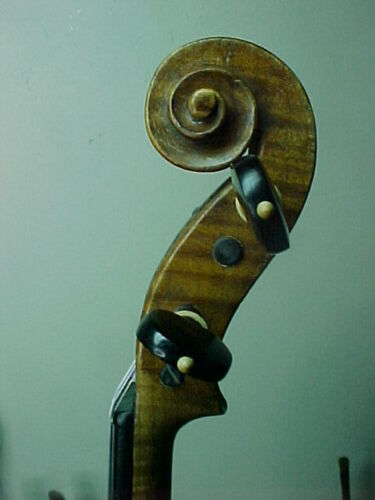 "Old one piece back Violin  labelled: ""Le Marquis delair  Doiseaux anno"" by JTL"