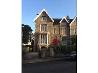 Lovely, large furnished double room to rent in quiet shared Victorian townhouse near Whiteladies Rd