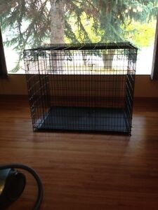 Ginormous Double Door Dog Crate -will remove ad when sold