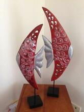 Decorative red and silver fish ornaments Beaumont Hills The Hills District Preview
