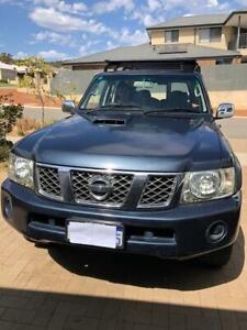 2008 Nissan Patrol St (4x4) 4 Sp Automatic 4d Wagon