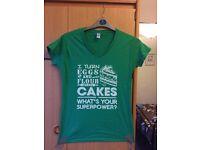 Bakers baking cake Tshirt