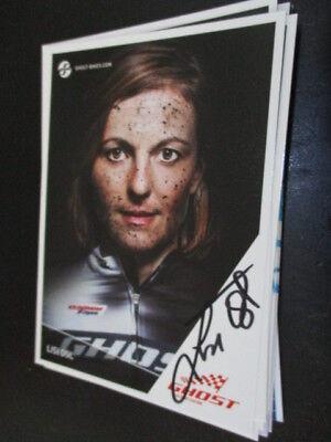 71864 Lisi Osl Radsport original signierte Autogrammkarte