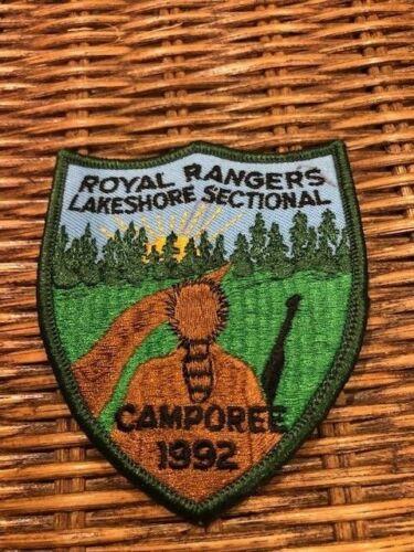 1992 Royal Rangers Vintage / Antique Lakeshore Sectional Camporee Patch