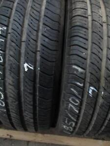 185/70R14 2 ONLY USED MICHELIN A/S TIRES