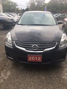 2012 Nissan Altima ,Leather,Roof, Alloy,Certified-Financing SL 2
