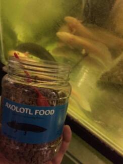 Axolotl food - Carnivorous Sinking Pellets from$9.90