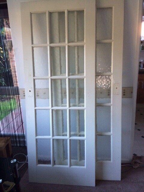 Two Internal Glass Panelled Doors In Poole Dorset Gumtree