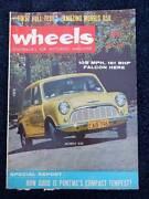 Wheels mag, May 1961, Vol. 15, No. 1; Morris, Falcon, Pontiac Toorak Gardens Burnside Area Preview