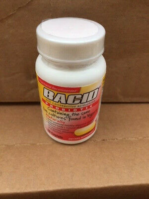 Bacid Probiotic With Lactobacillus Acidophilus 500mg - 50 Caplets - Exp May -