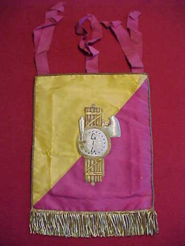 WWII ITALIAN ARMY TRUMPET BANNER ~ 40TH INFANTRY DIVISION ~ EXCELLENT