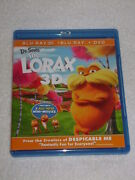 The Lorax Blu Ray