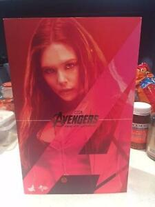 Hot Toys Scarlet Witch Figure 1/6 & 1:6 Avengers Age Of Ultron Brisbane City Brisbane North West Preview