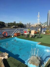 Room to rent in Houseboat near Vauxhall
