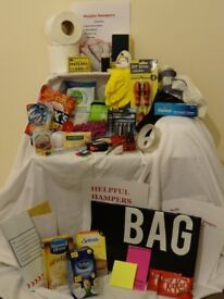 Gift hamper ideal for moving into a new home size 250 x 350 x 160 mm