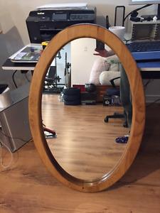 Bateman House solid pine mirror