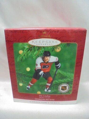 2000 Hallmark Keepsake Ornament Eric Lindros Hockey Greats Philadelphia Flyers